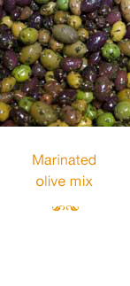 Marinated olive mix