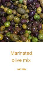 Marinated olive mix