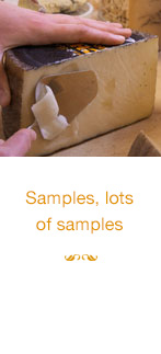 Samples, lots of samples