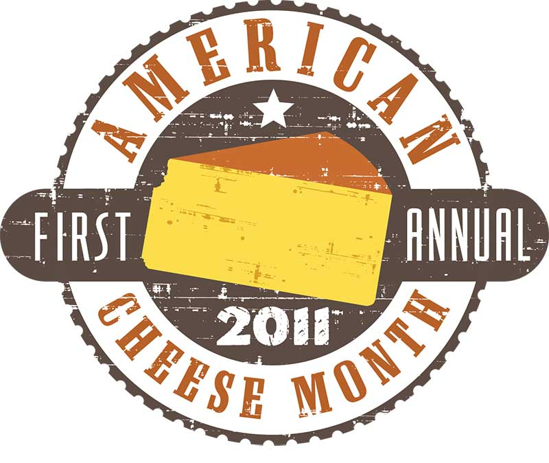 October is American Cheese Month